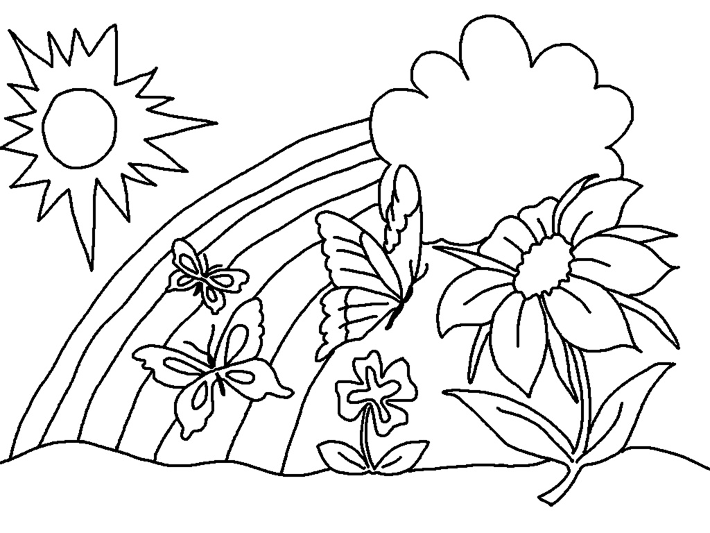 Free Printable Coloring Pages for Preschooler