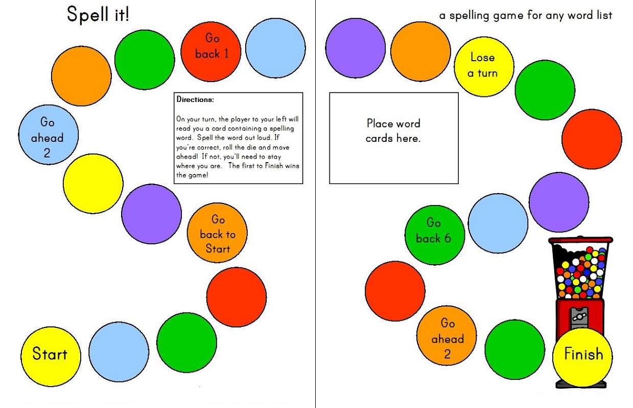 Free Worksheets To Print Games