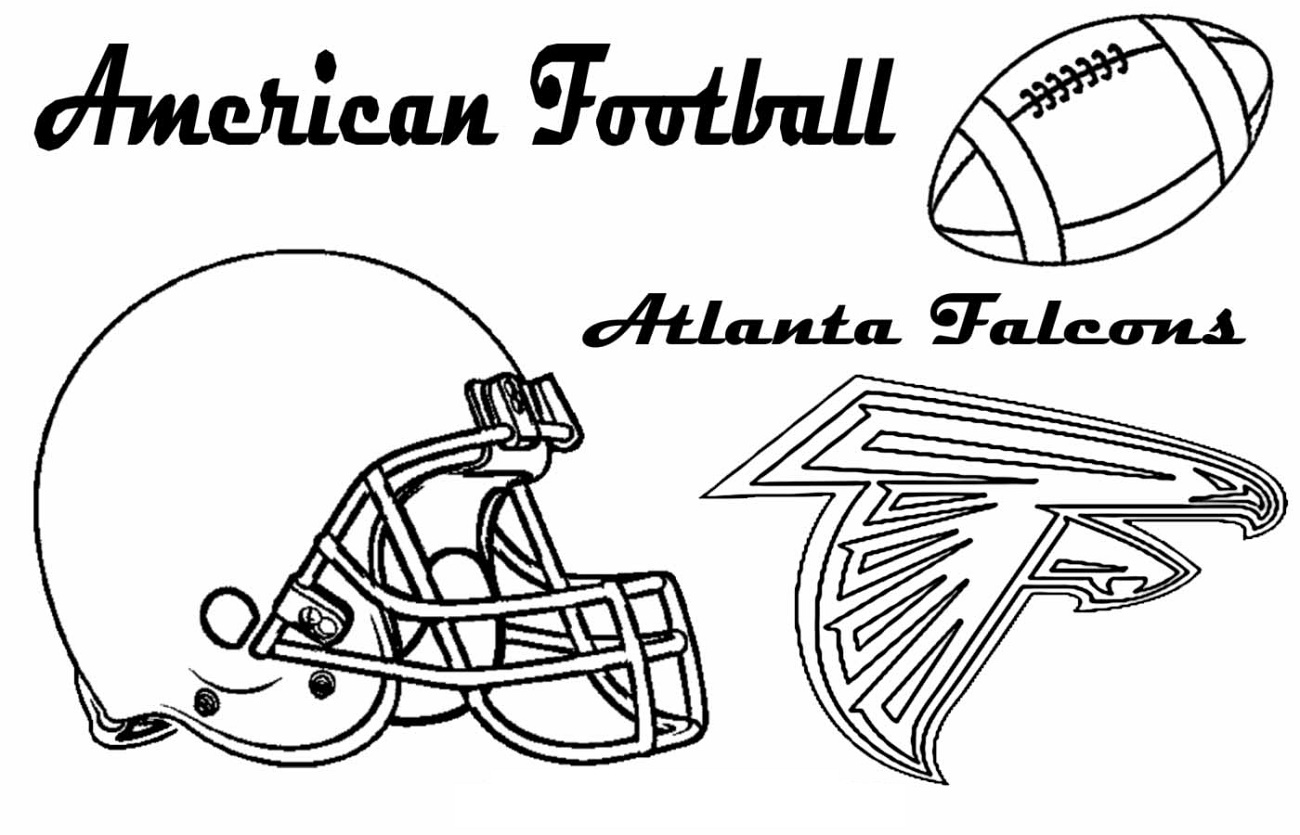 Atlanta Falcons Coloring Pages Free