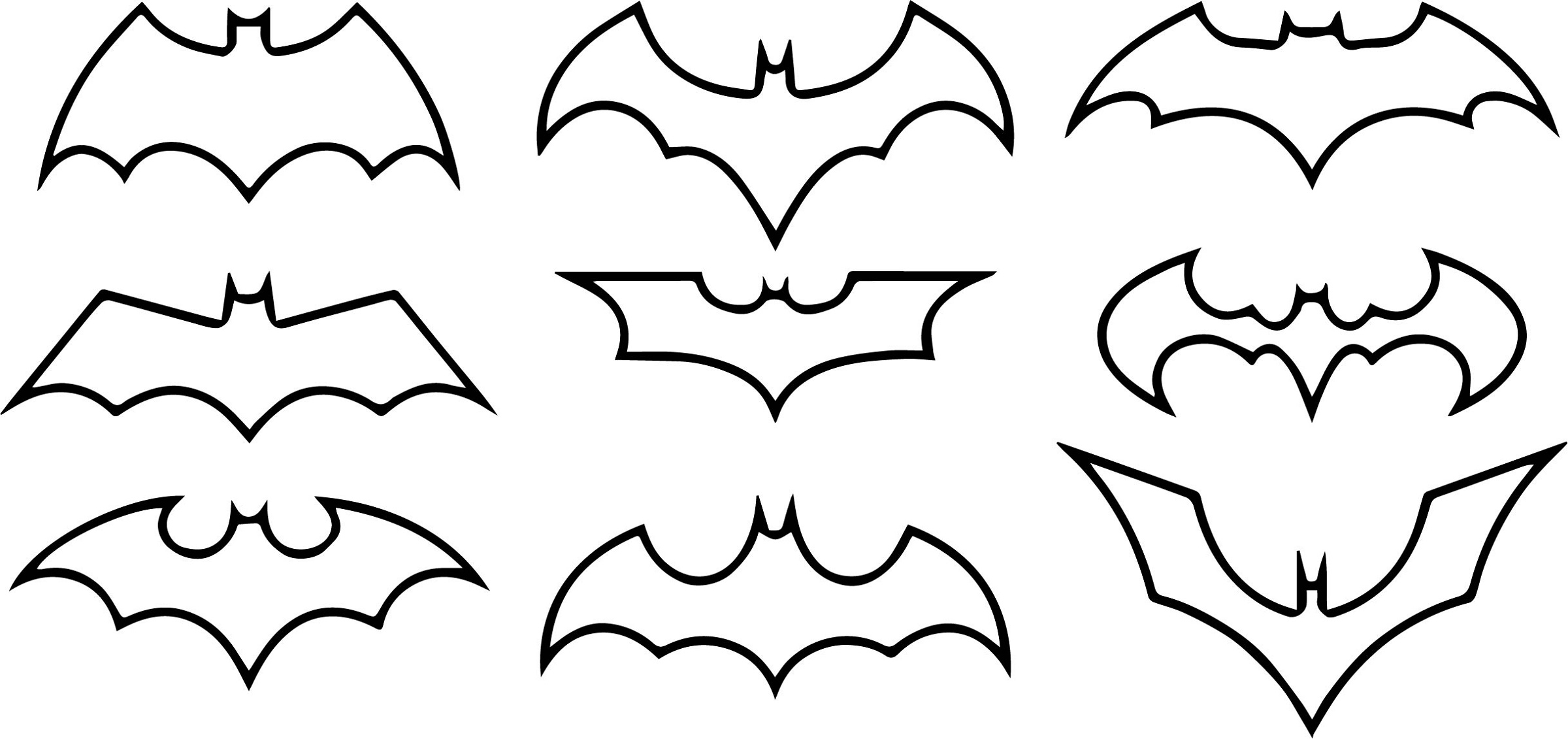 Batman-Logo-Coloring-Pages-Bat-Symbols