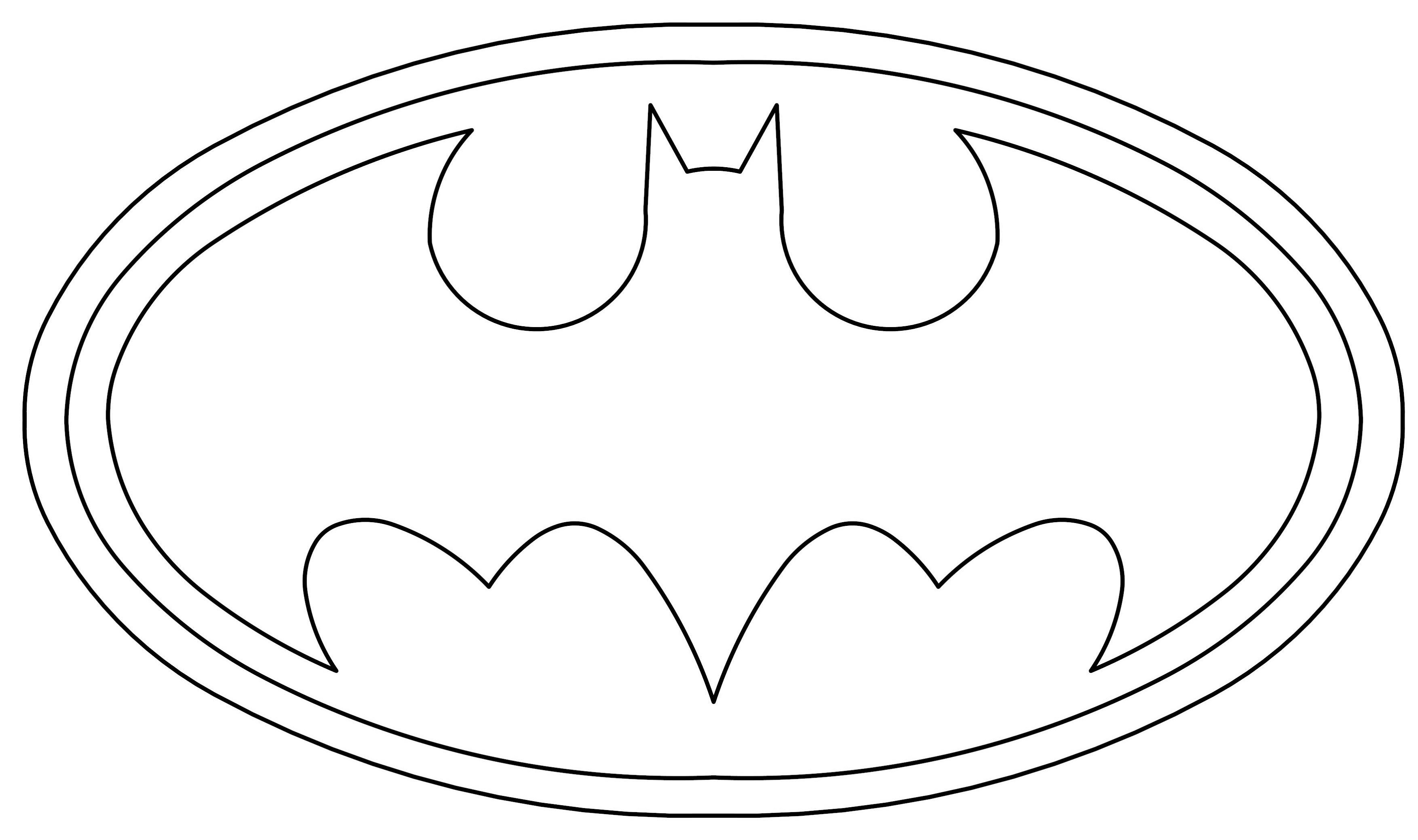 Batman-Logo-Coloring-Pages-To-Print