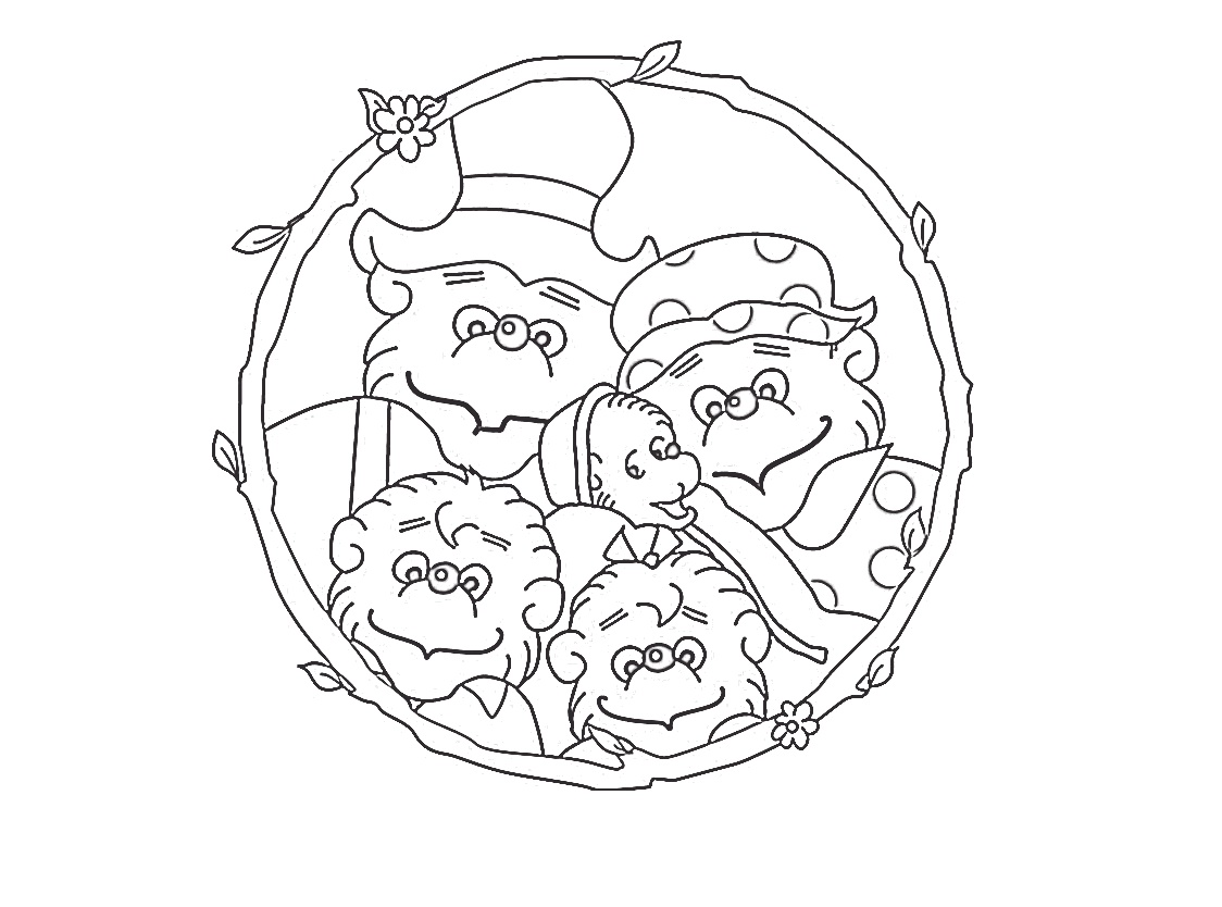 Berenstain Bears Coloring Pages Free