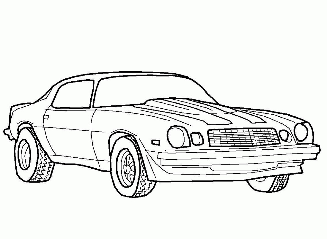 Camaro Coloring Pages K5 Worksheets