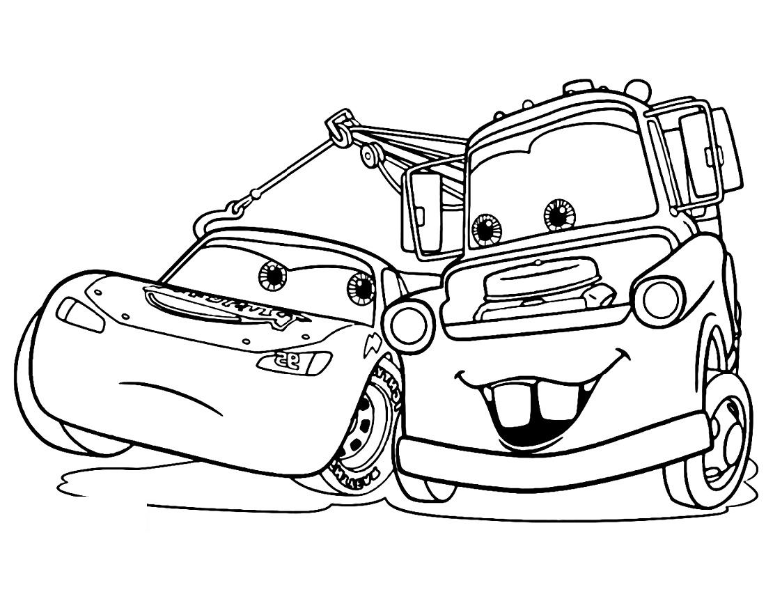Cars Coloring Book Disney Pixar