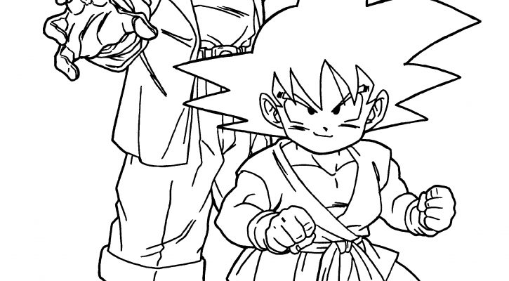 Dragon Ball Z Coloring Sheets Free