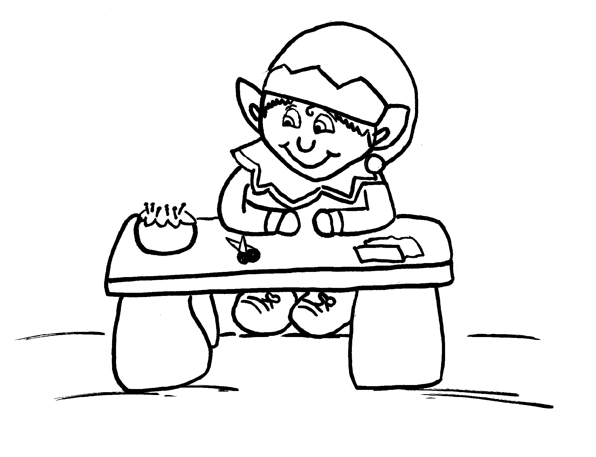 photograph regarding Elf on the Shelf Printable Coloring Pages identified as Elf Upon The Shelf Printable Coloring Internet pages Free of charge K5 Worksheets