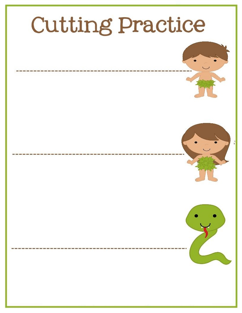 Fun Activity Worksheets Cutting