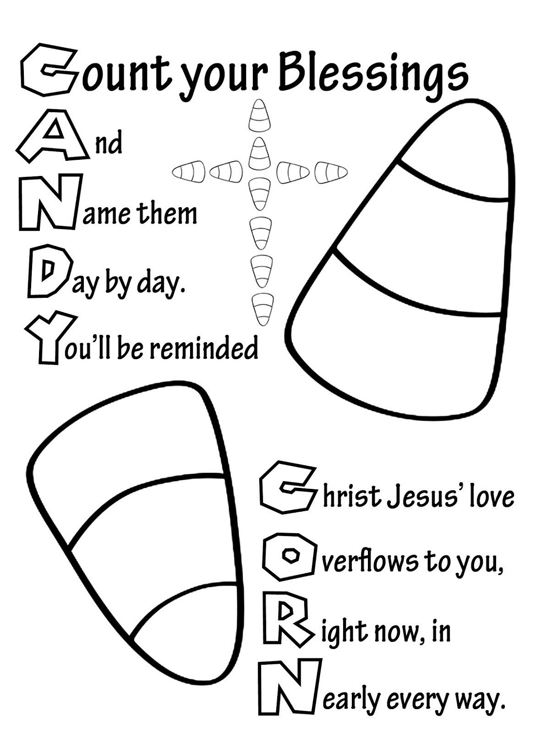 God Made Me Coloring Page Printable