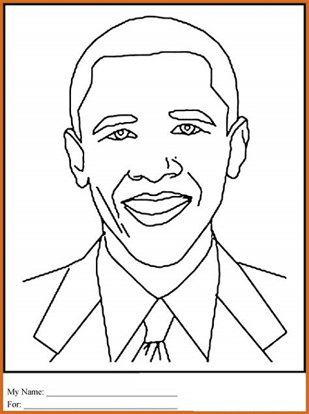 Jackie Robinson Coloring Page Face