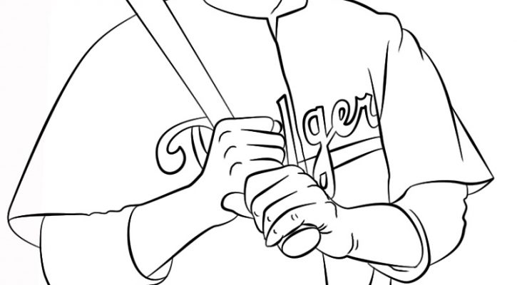 Jackie Robinson Coloring Page Free