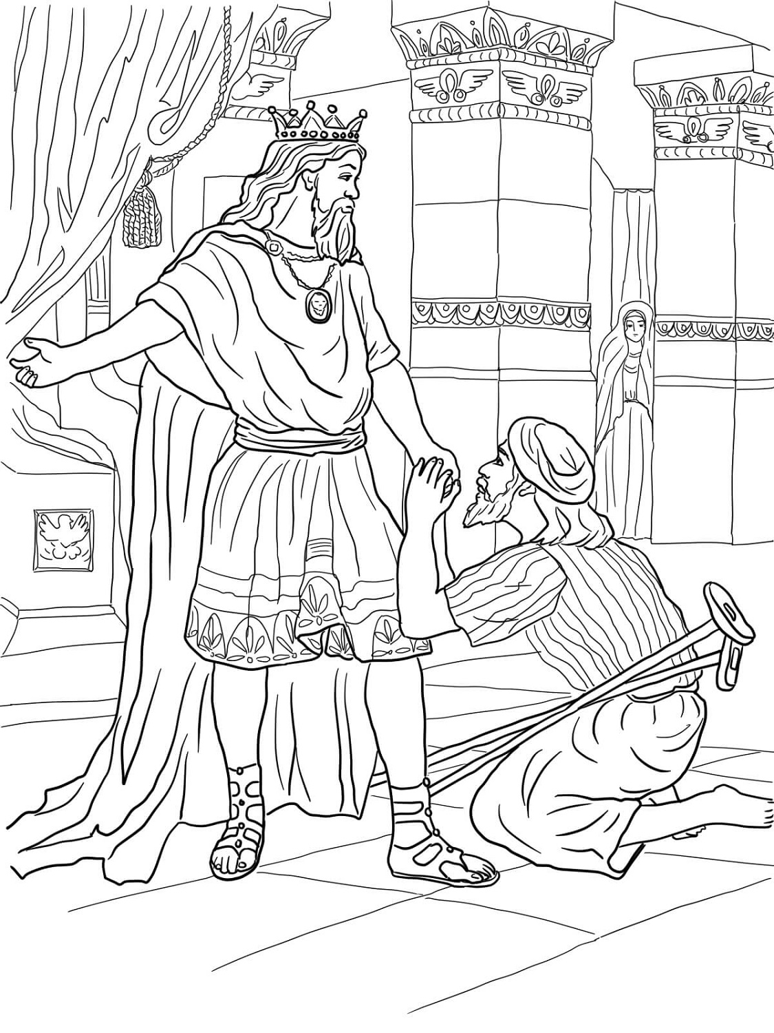 King David Coloring Pages Printable