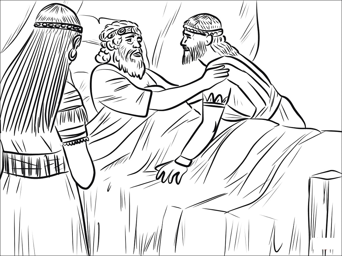 King David Coloring Pages To Print
