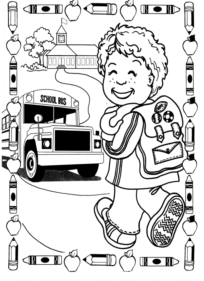 Last Day Of School Coloring Pages Printable