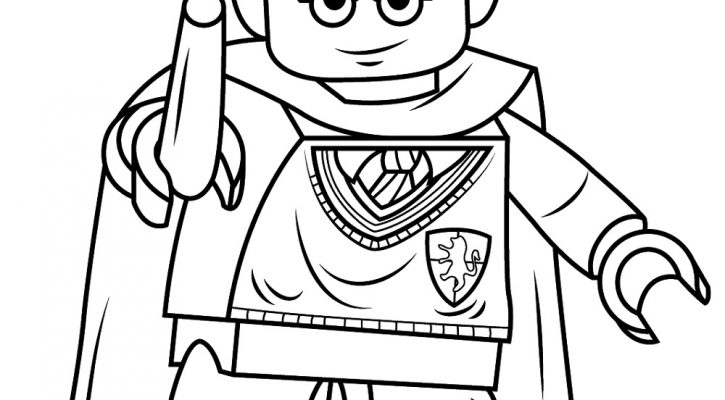 Lego Coloring Pages Harry Potter