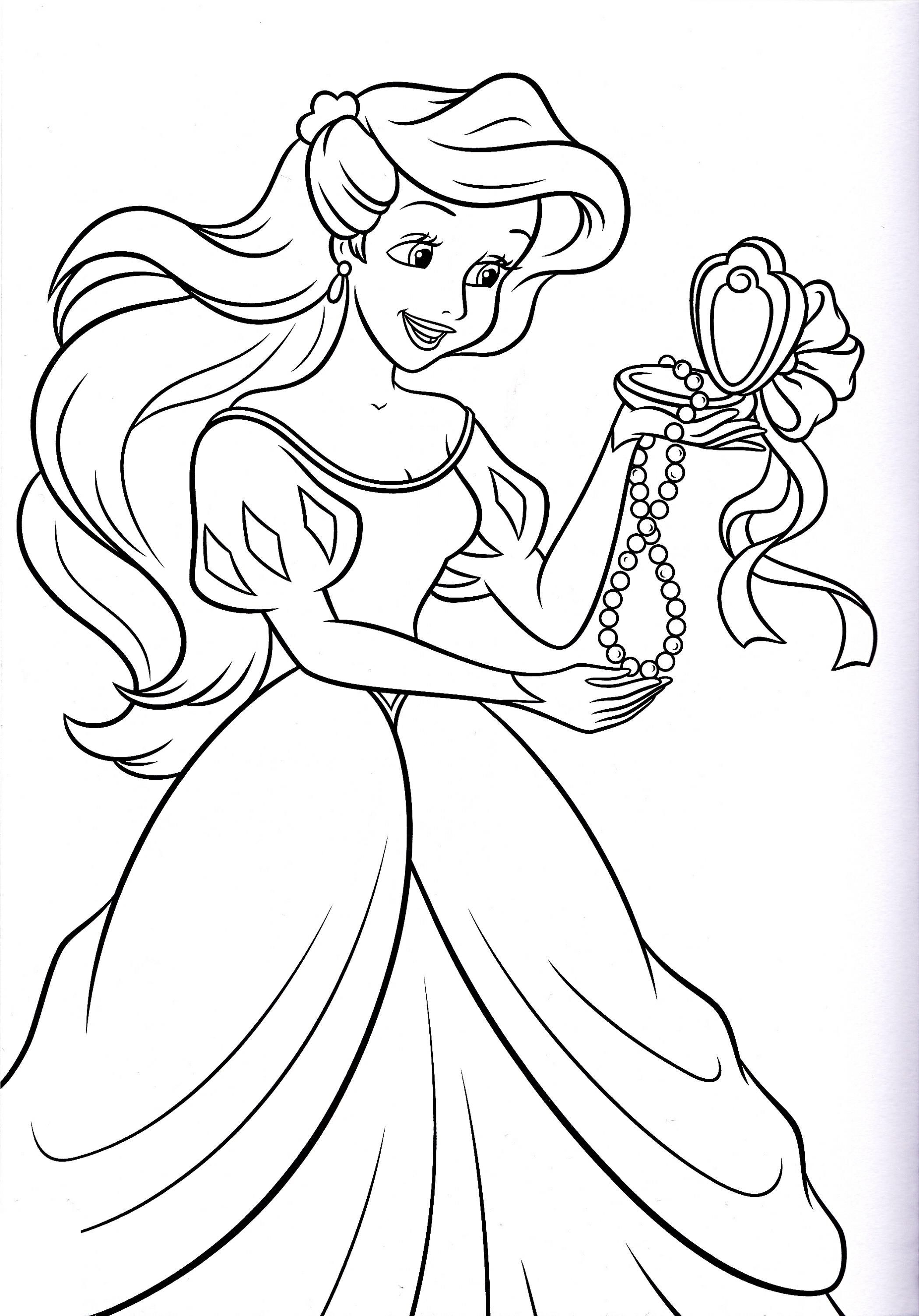 Princess Coloring Sheets Printable