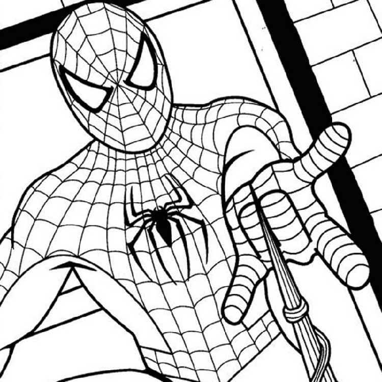 Spiderman Coloring Pages Pdf Printable
