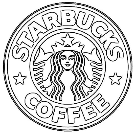 Starbucks Coloring Page Logo