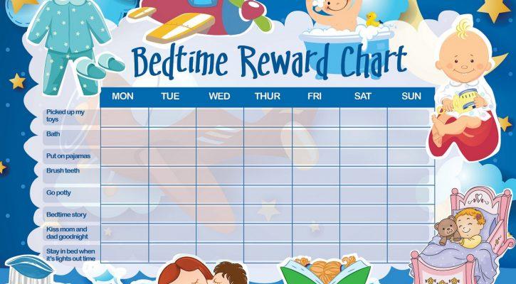 Toddler Reward Chart Bedtime