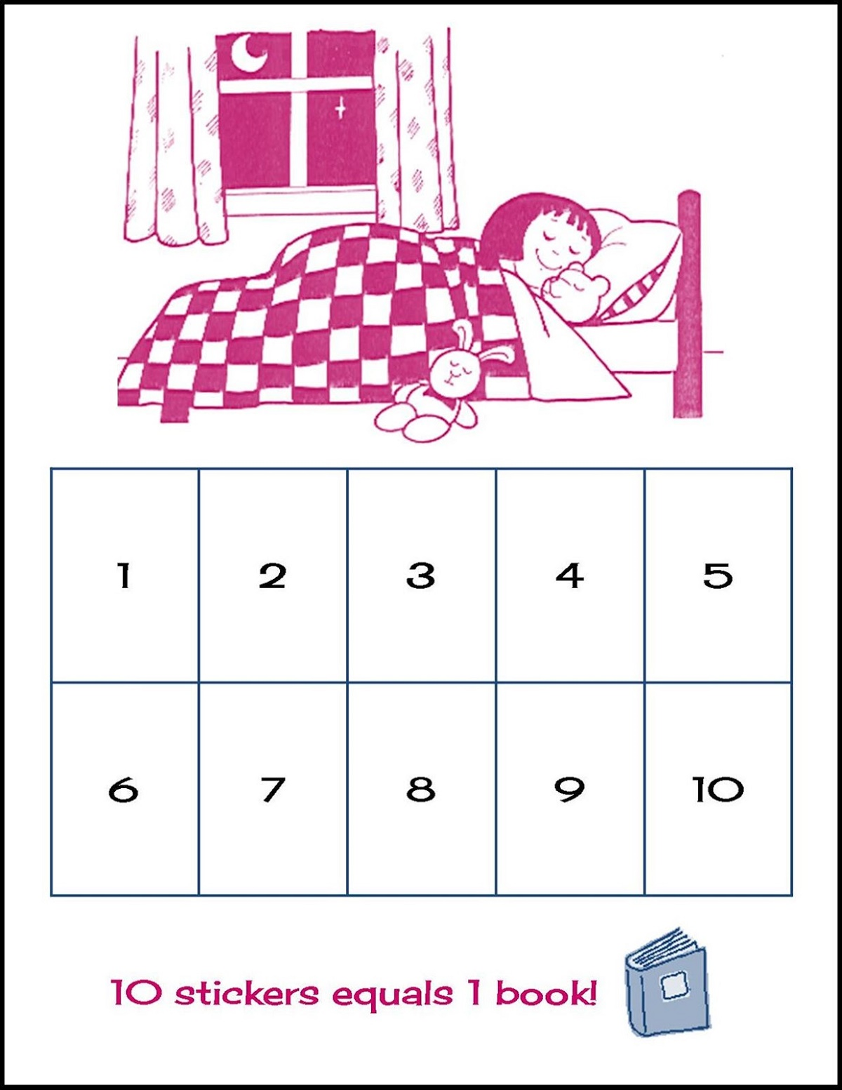 Toddler Reward Chart Sleep