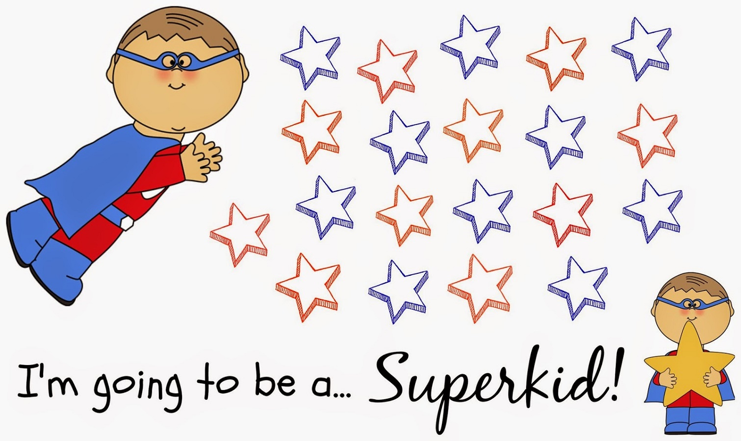 Toddler Reward Chart Superhero