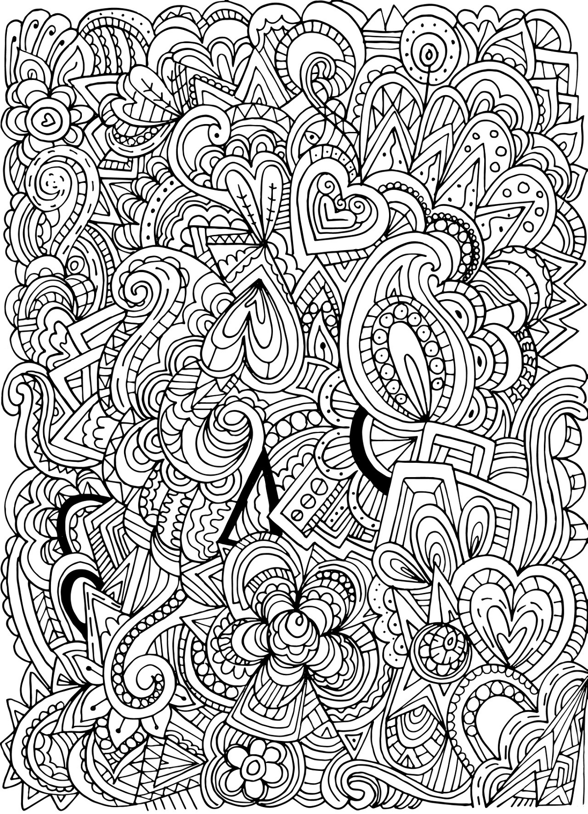 Tumblr Coloring Pages For Teenagers