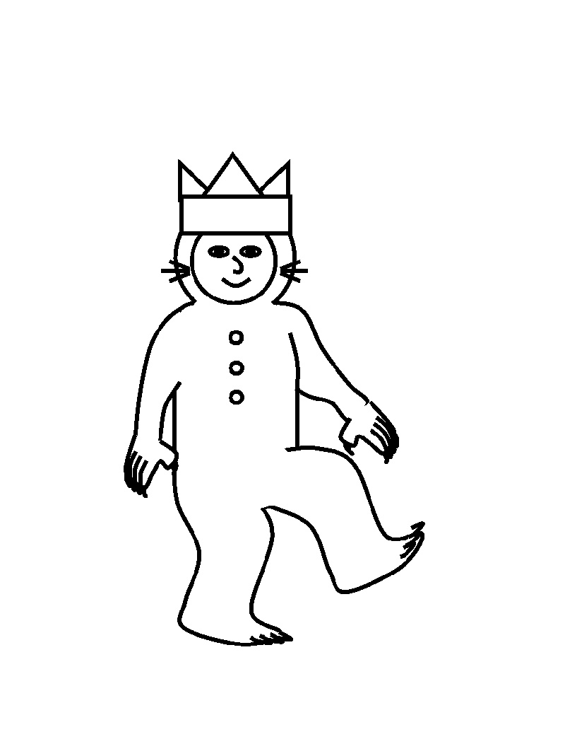 Where The Wild Things Are Coloring Pages Max