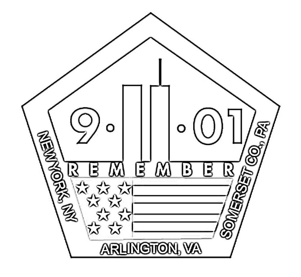 9 11 Coloring Pages Patriot Day