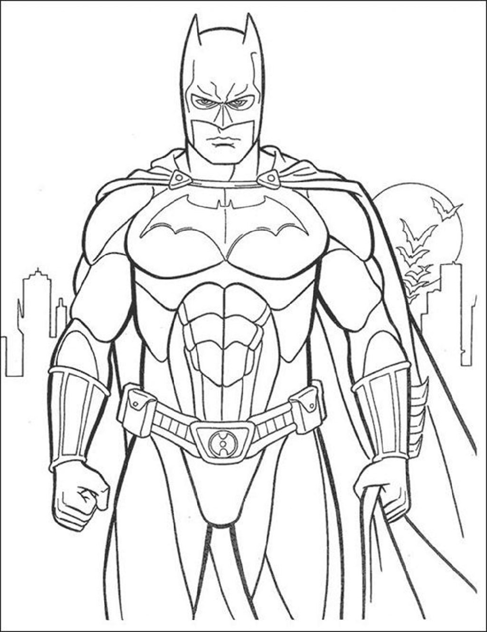 Batman Coloring Free
