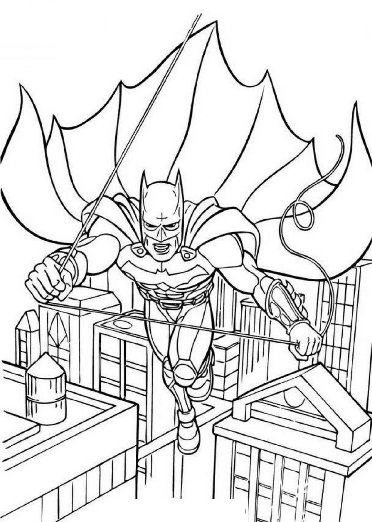Batman-Coloring-To-Print
