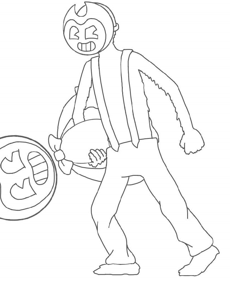 Bendy And The Ink Machine Coloring Pages To Print