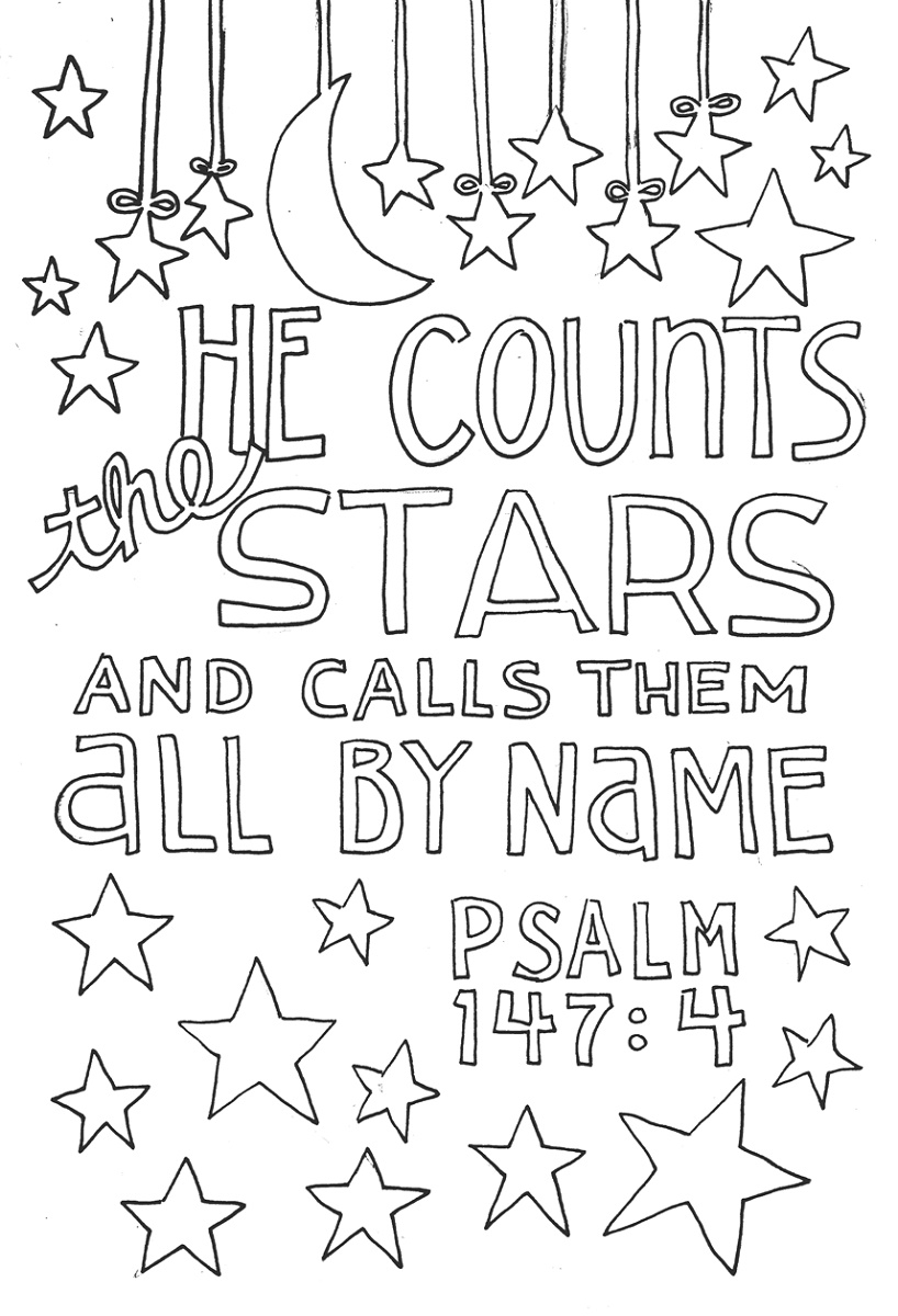 Bible Verse Coloring Pages Doodle