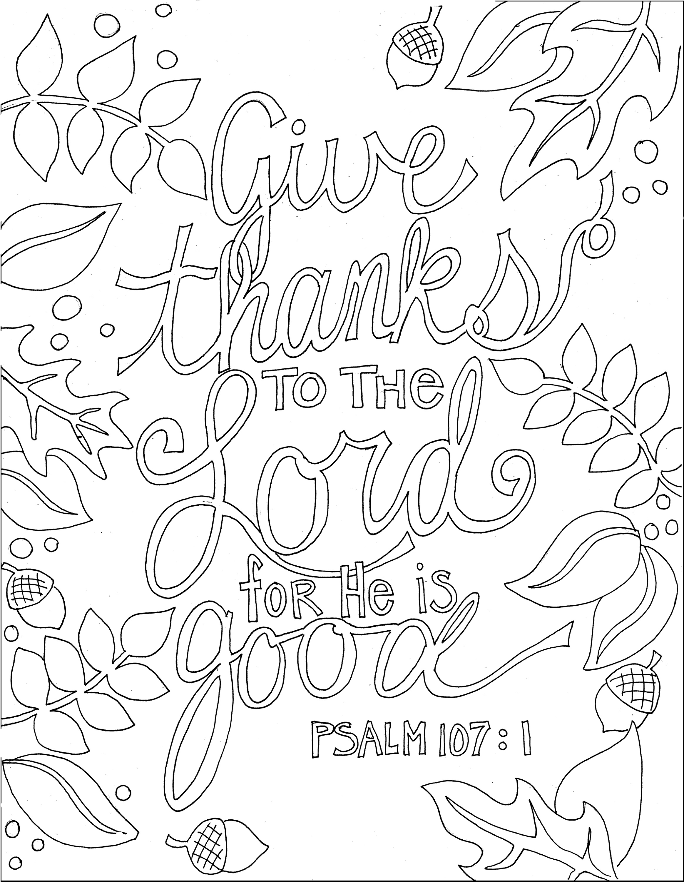 Bible Verse Coloring Pages Printable