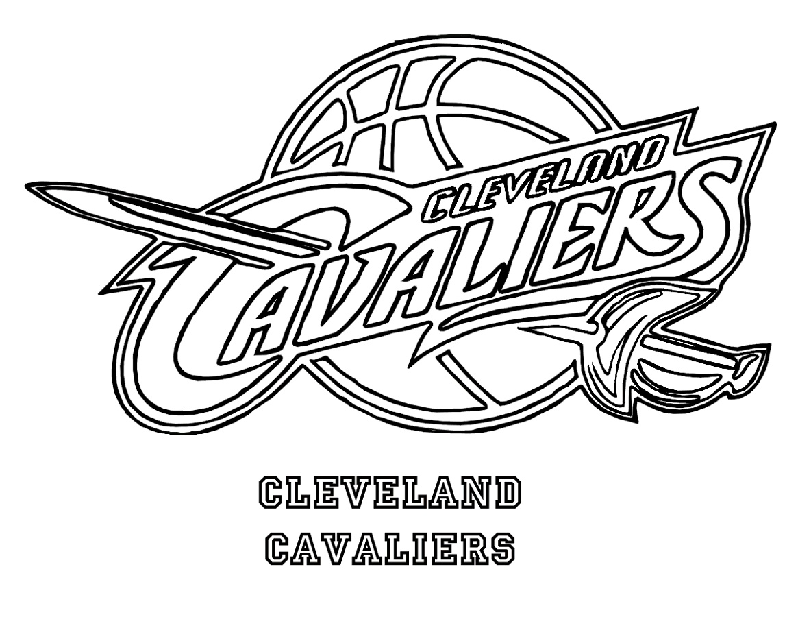 Cavs Coloring Pages Logo