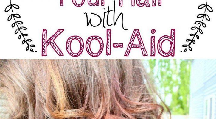 Coloring Hair With Kool Aid Dip-dye