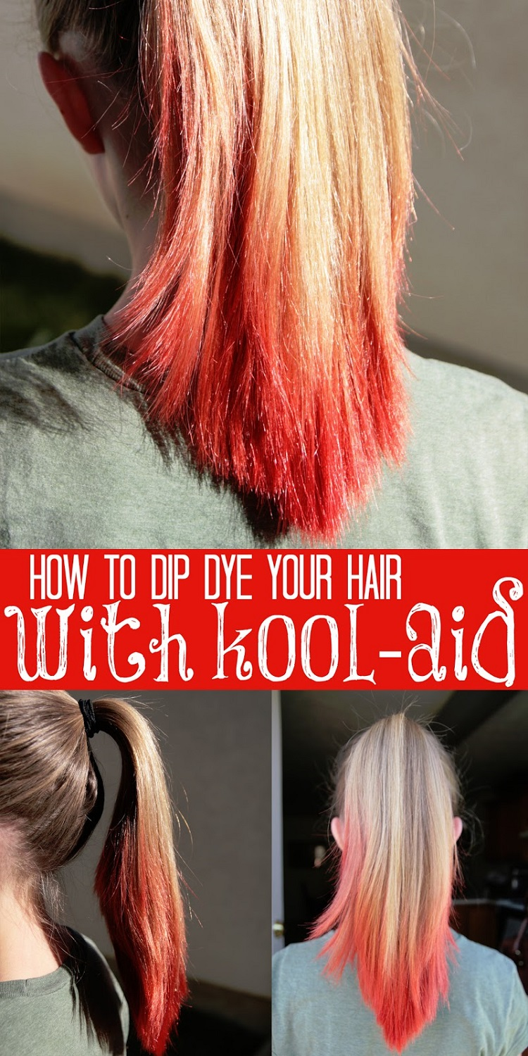Coloring Hair With Kool Aid Free