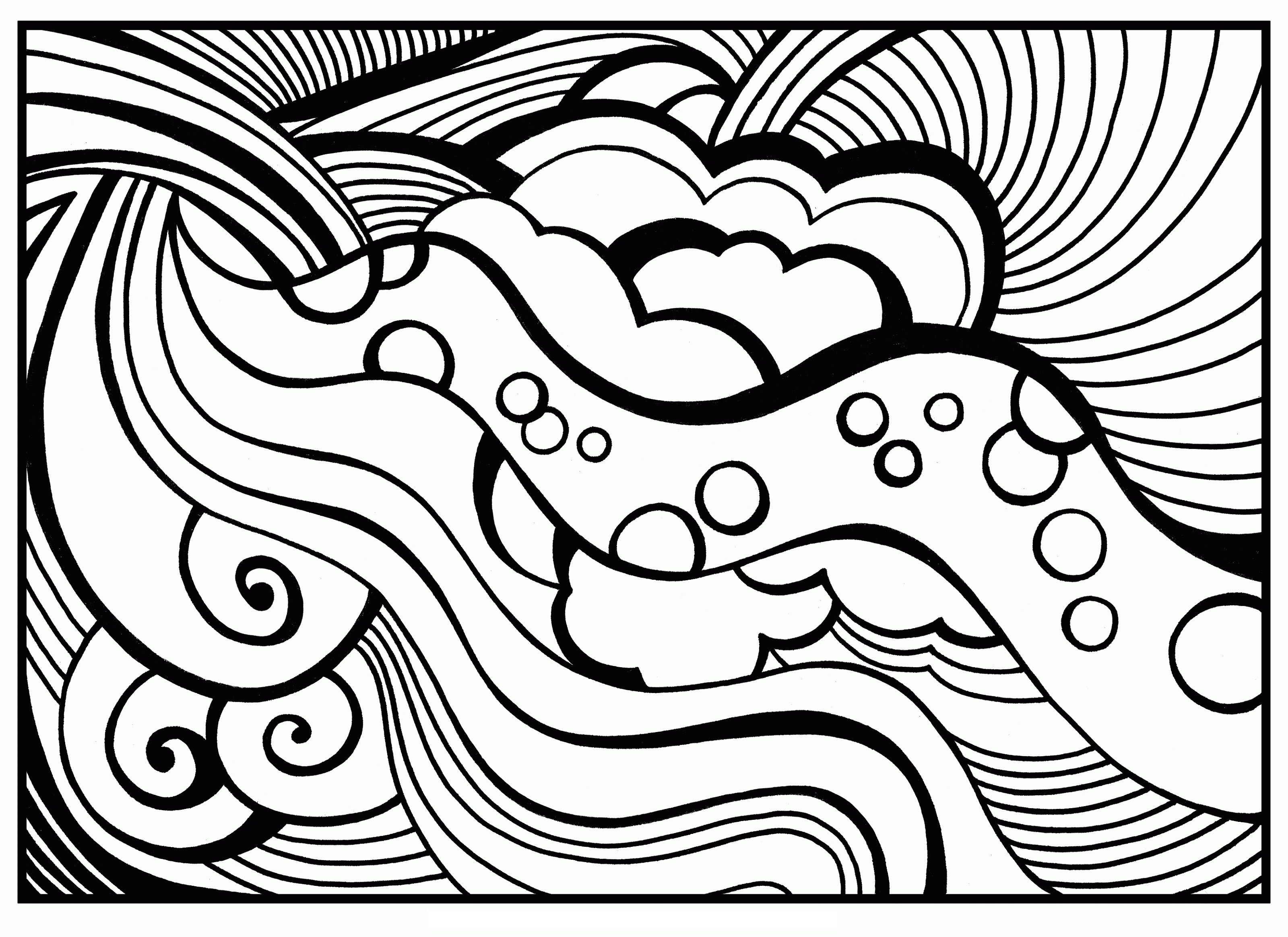 Coloring Sheets For Teens AbstractColoring Sheets For Teens Abstract