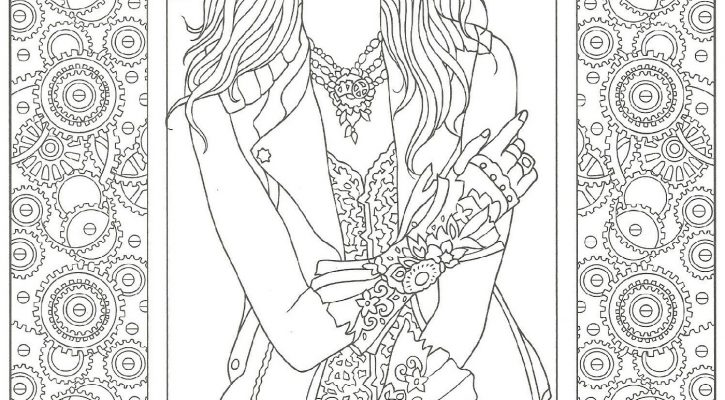 Creative Adult Coloring Book Pages
