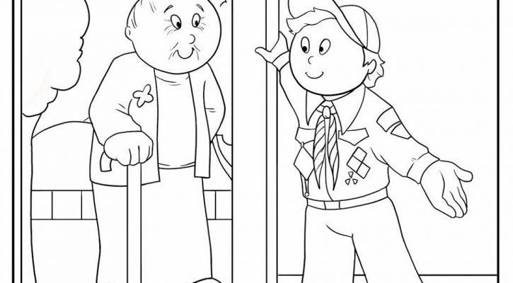 Cub Scout Coloring Pages Compassion