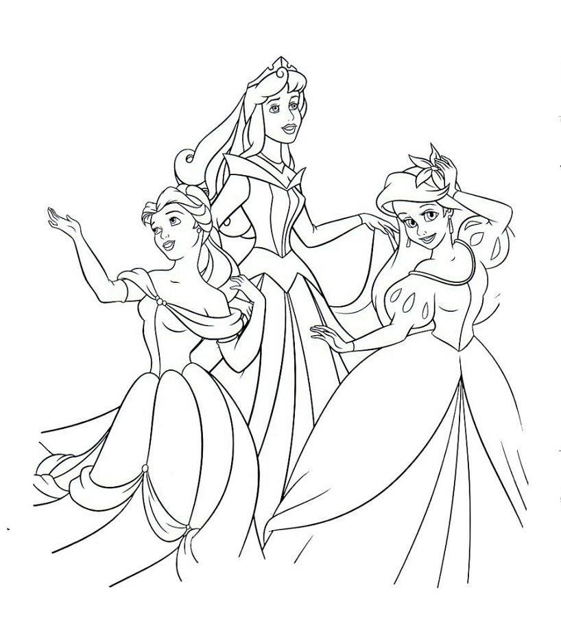 Disney Coloring Book Princess