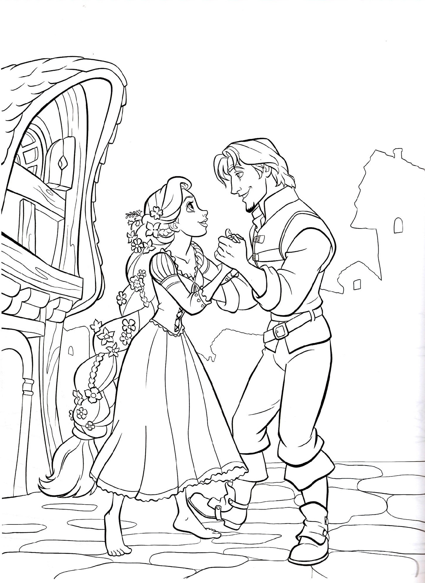 Disney Coloring Book Rapunzel