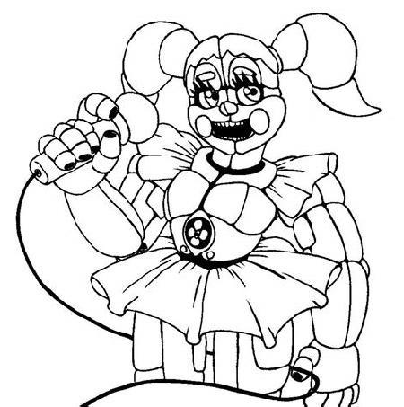 Fnaf Coloring Circus Baby