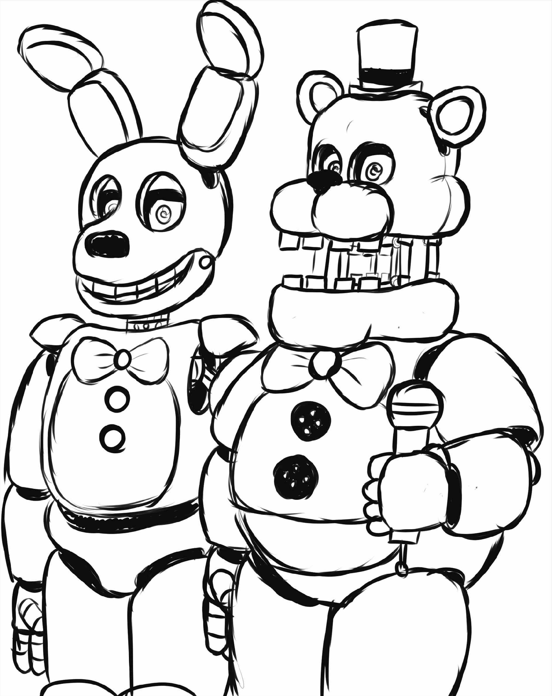 Fnaf-Coloring-Nightmare