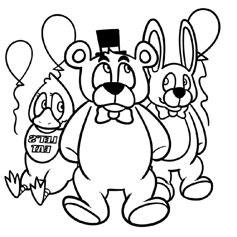 Fnaf Coloring Sister Location