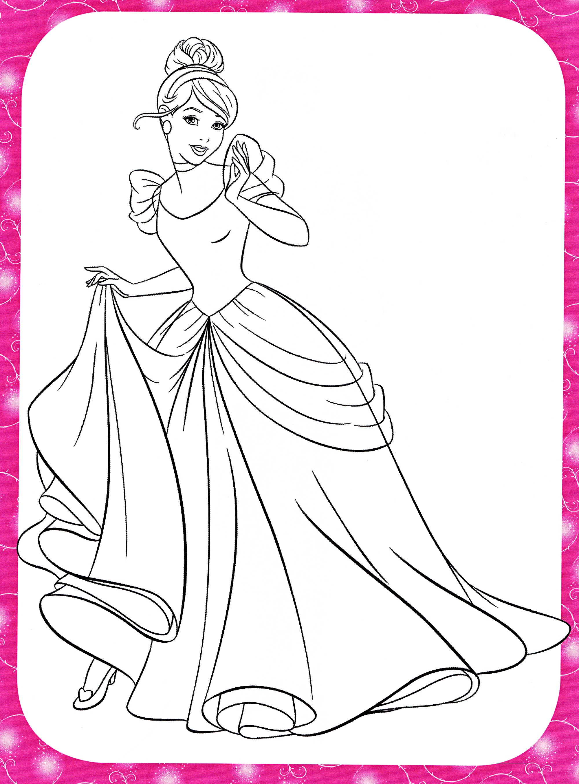 Free Coloring Games Princess