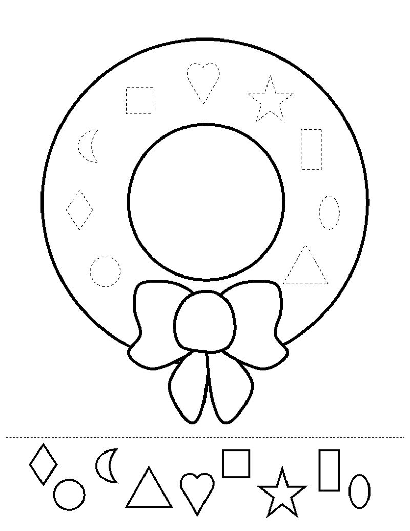 Free Printable Activities For Kids Shape