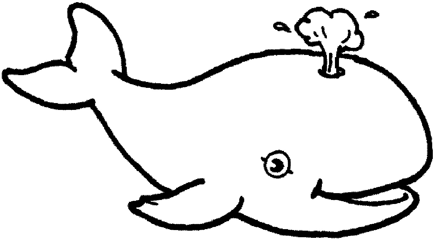 Free Printable Coloring Pages For Kids Whale