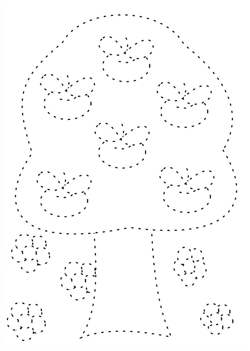 Free Toddler Worksheets Tracing