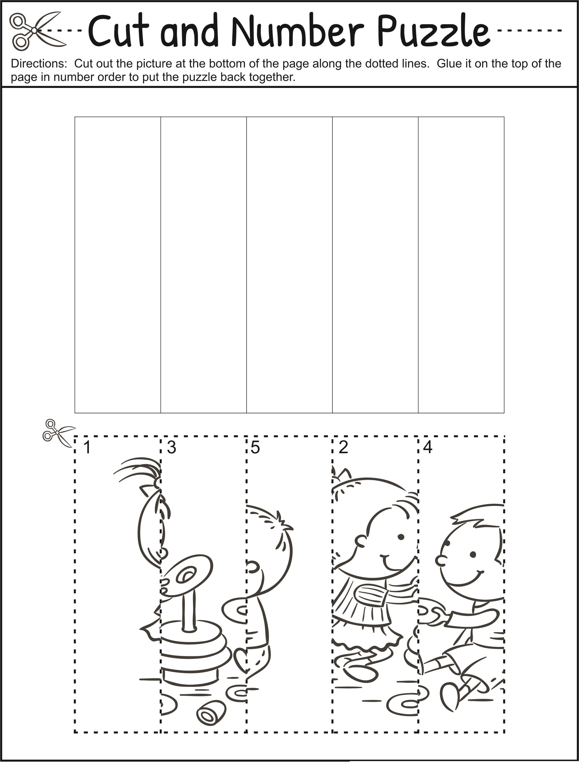 Fun Printable Worksheets Number Puzzles