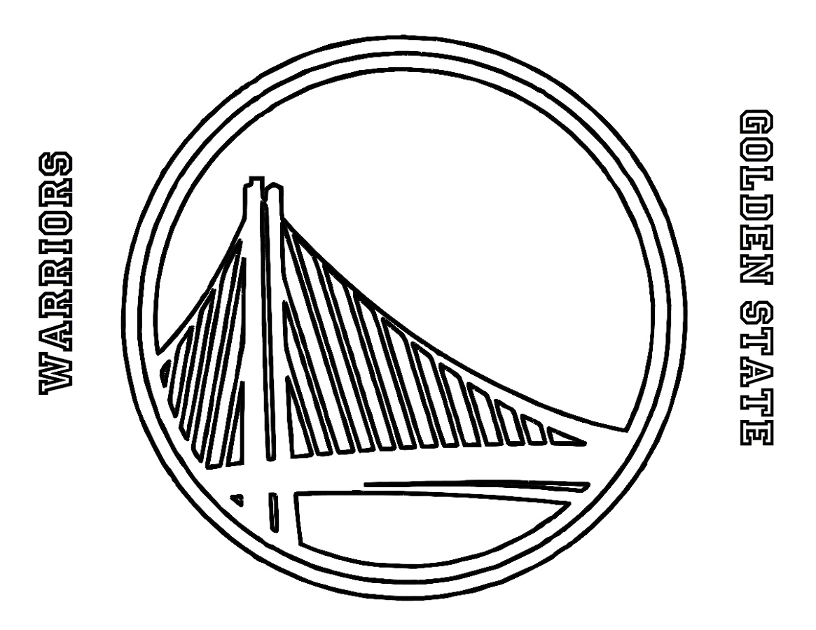 Golden State Warriors Coloring Pages Free