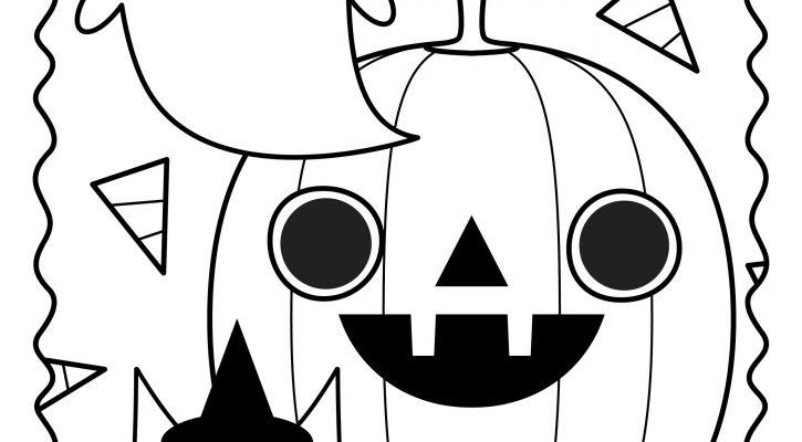 Halloween Coloring Sheets Cute